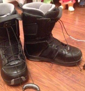 Ботинки для сноуборда 41-42 размер