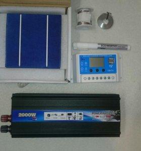 Комплект солнечная панель 100 Вт (обмен)
