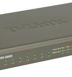 Голосовой шлюз D-Link DVG-6008S