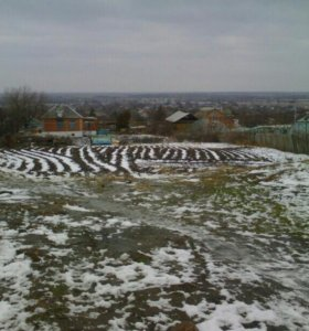 Земельный участок в Мелиховской
