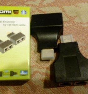 Удлинитель HDMI по витой паре