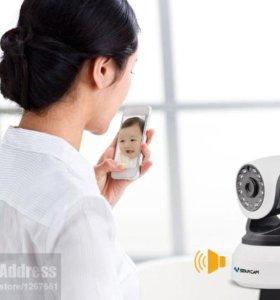 Видеокамера видеонаблюдения за офисом или детьми