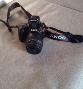 Фотоаппарат зеркальный Sony Alfa SLT-A37