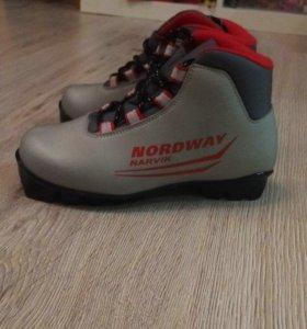 Лыжные ботинки 33 размер