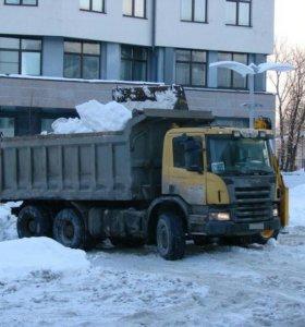 Очистка от снега и вывоз!