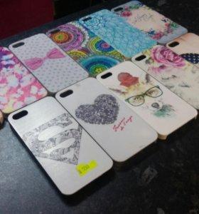 Чехлы на IPhone 5s новые