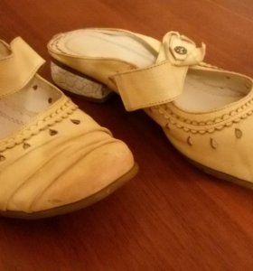 Туфли босоножки сабо нат кожа 36 р-р