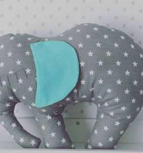 Подушка, игрушка виде слоника