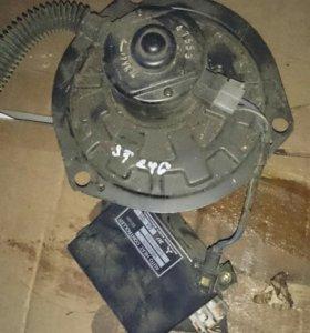 Мотор печки с калдины