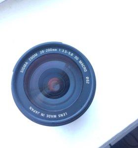 Объектив Sigma DG 28-200 1:3,5-5,6 для Canon