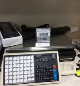 Весы с печатью этикеток 15кг