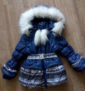 Куртка- пальто на девочку
