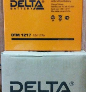 Аккумулятор  Delta Battery DTM 1217