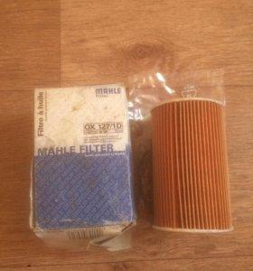 BMW фильтр масляный knecht mahle ox127/1d