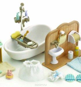 Ванная комната Sylvanian Families новая