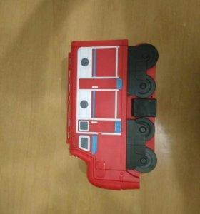 Набор игрушек паровозики из чаггинтона.