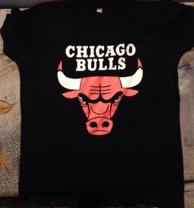 Футболка Chicago  bulls женская мужская