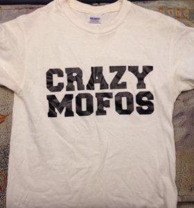 Футболка crazy mofos one direction