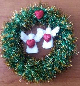 Рождественский Веночек - Европейский Дизайн