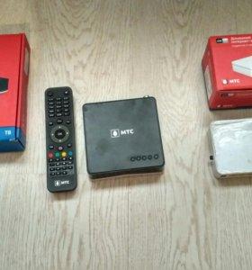 HD - декодер и wi-fi роутер мтс