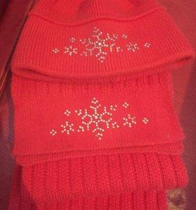 Комплект шапка + шарф Ferz