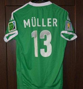 Футболка сборной Германии по футболу Thomas Muller