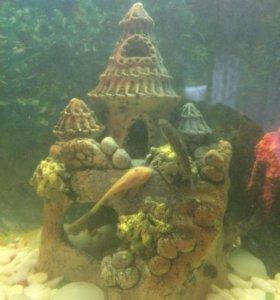 Грот для аквариума
