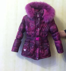Комплект зимней одежды для девочки