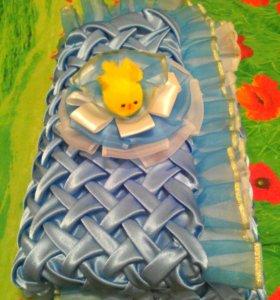 Одеяло тёплое для новорожденного