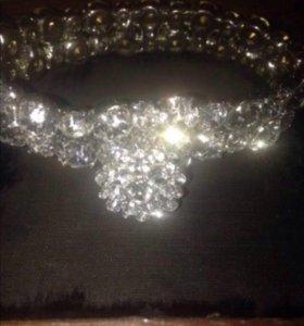 Бижутерия (браслет+кольцо)
