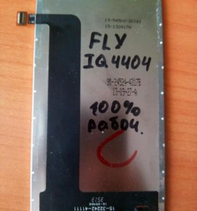 Fly iq4404 дисплей