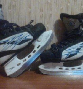 коньки хоккейные раздвижные