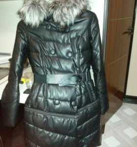 Пуховик зима