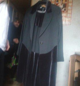 Костюм платья и верх