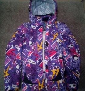 Куртка на девочку от лыжного костюма