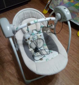 Электронная качеля детская
