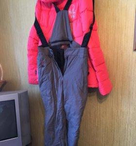 Горнолыжный костюм 48-50р. И зимние ботинки 40р.