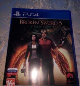 Продам игру broken sword 5