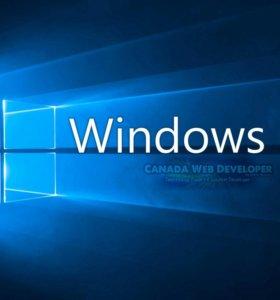 Установка лицензионной windows 10