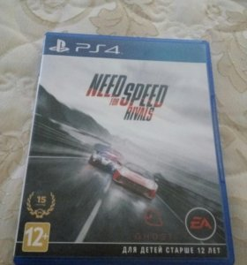Продам игру need for speed rivals для ps4