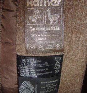 Пальто из натуральной шерсти 50-52