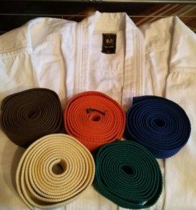 Кимоно, защита, пояса