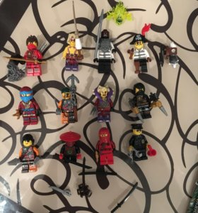 Лего ниндзяго минифигурки , Lego Ninjago
