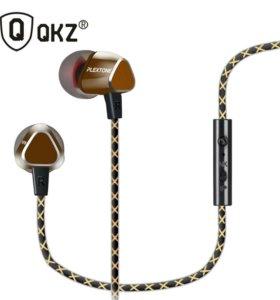 Наушники(Гарнитура) QKZ-X36M