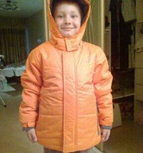 Куртка для мальчика деми 134-140