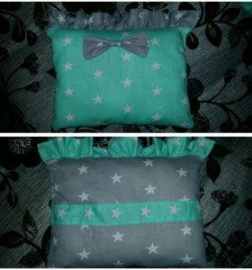 Подушки-бортики и постельное белье