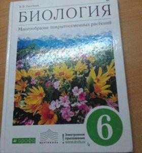 Книга по биологии 6 класс, Пасечник