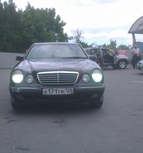 Мерседес w210 elegance рестайлинг 2001 г.в