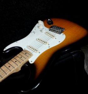 Гитара Fender squier strat