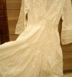Новое платье 3/4 Guess из хлопка оригинал